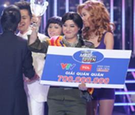 Giả gái xuất sắc, Thanh Duy giành giải 700 triệu đồng