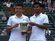 Thể thao - Vô địch đôi Wimbledon trẻ, Hoàng Nam đi vào lịch sử