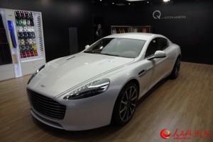 Aston Martin Rapide S có giá khởi điểm khoảng 596.000 USD