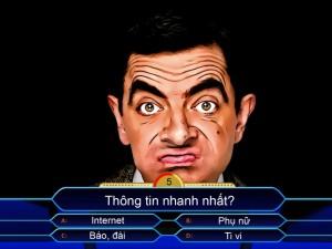 """Mr Bean chơi """"Ai là triệu phú"""""""