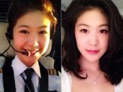8X + 9X - Cô gái xinh đẹp trở thành nữ cơ trưởng đầu tiên ở VN
