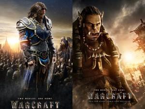 Phim ăn theo trò chơi Warcrarft nổi tiếng tung poster đầu tiên