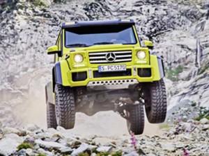 """Tư vấn - Ngắm vẻ đẹp của """"chiến binh"""" Mercedes-Benz G500 4x4²"""
