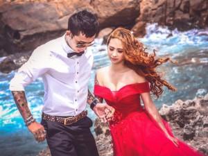 Bạn trẻ - Cuộc sống - Bộ ảnh cưới ấn tượng của cặp đôi xăm trổ