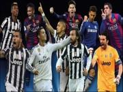 Bóng đá Ý - Messi, Ronaldo & Pogba tranh giải hay nhất UEFA