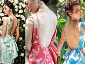 """Váy - Đầm - """"Cân đo"""" mỹ nhân Việt khi mặc đụng hàng"""