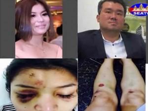 Đại gia Campuchia hành hung nữ diễn viên giữa chốn đông người