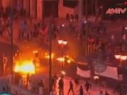 An ninh thế giới - Hình ảnh gây sốc về cuộc bạo động vừa xảy ra ở Hy Lạp