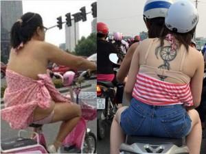 """Váy - Đầm - Chóng mặt vì """"thảm họa thời trang"""" ở đường phố châu Á"""