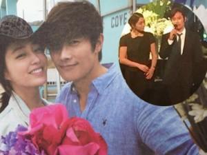 """Vợ chồng Lee Byung Hun lộ diện sau scandal """"khiêu dâm"""""""