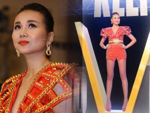 Thời trang - Thanh Hằng gây ấn tượng với quần siêu ngắn