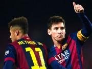 Ngôi sao bóng đá - Barca du đấu: Vắng Messi, Neymar