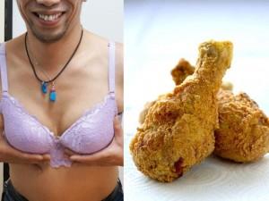 Làm đẹp - Vòng 1 lớn bất thường vì nghiện ăn gà rán