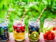 Sức khỏe đời sống - Coi chừng loét dạ dày, tụt huyết áp vì giảm cân bằng nước detox