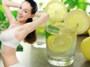 Sức khỏe đời sống - Uống nước chanh giảm cân: Những nguy hiểm khôn lường