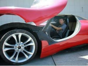 Chuyện lạ - Sinh viên TQ tự chế tạo siêu xe chỉ với 100 triệu
