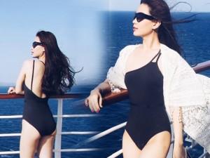 Người mẫu - Hoa hậu - Á hậu Diễm Trang khoe ảnh diện áo tắm ở biển châu Âu
