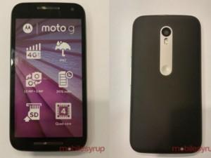 Điện thoại - Moto G 2015 lộ cấu hình, có chống nước