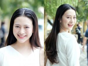 Bạn trẻ - Cuộc sống - Nữ sinh xinh như Châu Tấn dự thi vào ĐH Sân khấu Điện ảnh