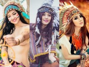 """Thời trang - Những nàng thổ dân xinh đẹp gây """"bão"""" cộng đồng mạng"""