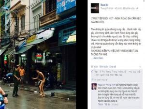 An ninh Xã hội - Tiết lộ lý do nam thanh niên khỏa thân, khua kéo giữa phố