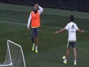 Bóng đá - Mất bàn thắng trên sân tập, Ronaldo chửi thề Benitez