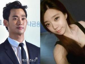 """Xôn xao vì """"em gái cùng cha khác mẹ"""" của Kim Soo Hyun"""