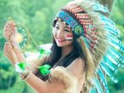 """Bạn trẻ - Cuộc sống - """"Nữ thổ dân xinh đẹp"""" nói thành thạo 3 ngôn ngữ"""