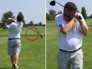 Clip Đặc Sắc - Phát bóng tệ hại, golf thủ đoạt mạng chim biển