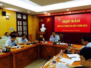 Tin tức Việt Nam - Tạm đình chỉ công tác một cán bộ Thanh tra Chính phủ