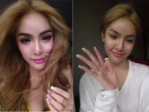 """Làm đẹp - Ngỡ ngàng với """"mặt thật"""" của mỹ nhân Thái Lan"""