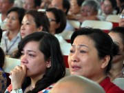 Nước mắt rơi trong lễ cầu siêu cho 64 liệt sĩ Gạc Ma