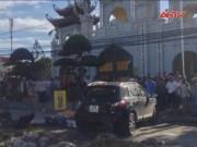 Video An ninh - Hà Nội: Tàu hỏa hất văng xế hộp, 6 người thương vong