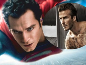 Hậu trường phim - David Beckham đóng phim hành động cùng Superman