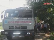 Video An ninh - Xe tải va chạm xe máy sản phụ 8 tháng tử vong
