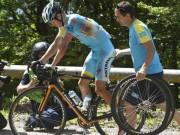 Thể thao - Sự cố Tour de France: Cua-rơ gặp nạn vì moto điên