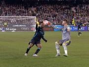 Video bàn thắng - Tranh cãi: Real bị thổi oan penalty