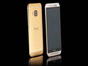 HTC One M9 mạ vàng 24K giá 56 triệu đồng