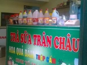 Thị trường - Tiêu dùng - Hãi hùng trà sữa, siro hóa chất TQ siêu lợi nhuận