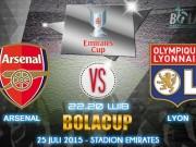 Các giải bóng đá khác - TRỰC TIẾP Arsenal - Lyon: Đánh tennis tại Emirates (KT)