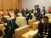 Bóng đá Việt Nam - Man City đến Hà Nội trong cơn mưa tầm tã