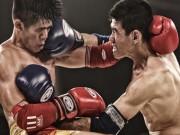 Võ thuật - Quyền Anh - Võ sĩ Muay Thái phản đòn, đối thủ rách mắt