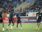 """Bóng đá Việt Nam - Fan phát """"sốt"""" với các bài tập của Man City"""