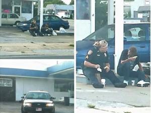 """Tin tức trong ngày - Ảnh nữ cảnh sát Mỹ ăn sáng với người vô gia cư """"gây sốt"""""""