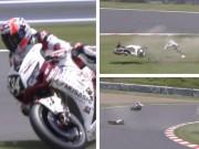 Thể thao - Cựu vô địch MotoGP lật xe, gẫy xương ở Nhật Bản