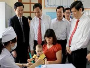 Sức khỏe đời sống - VN: Hơn 95% trẻ em được tiêm vắc-xin sởi-rubella miễn phí
