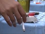 Video An ninh - Luật Phòng chống tác hại thuốc lá vẫn chỉ nằm trên giấy