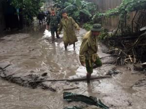 Tin tức Việt Nam - Quảng Ninh: Vỡ đập xỉ thải, di dời khẩn cấp 350 người