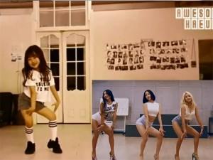 Bạn trẻ - Cuộc sống - Bé gái 6 tuổi nhảy sexy đẹp như sao Hàn