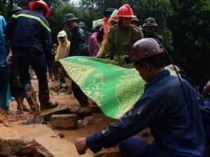 Vụ sạt đồi ở Quảng Ninh: Tìm thấy thi thể 2 nạn nhân cuối cùng